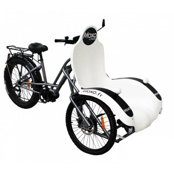 Vélo triporteur à assistance électrique (Handi) - MOXO